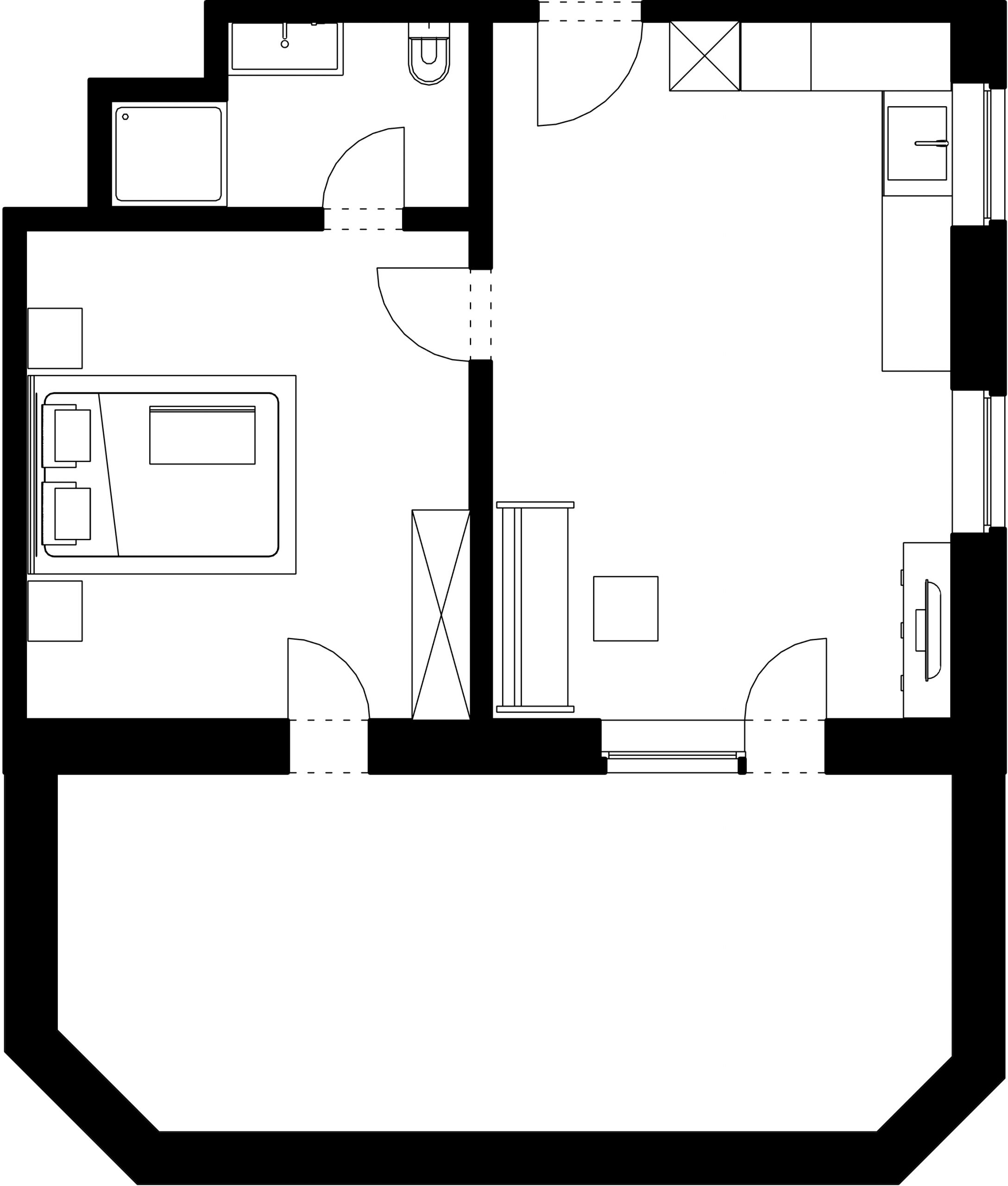 Apartment Laerchenblick layout plan